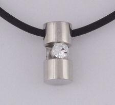 Markenlose Rhodium beschichtete Modeschmuck-Halsketten & -Anhänger mit Besondere Anlässe