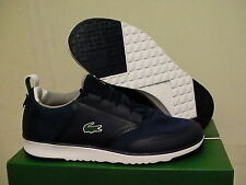 Lacoste Men's shoes L.IGHT LT12 spm txt/syn dark blue training size 10 new