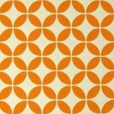 1970s Various Colors Vintage Orignal Design Abstract Wallpaper Orange, Grey +
