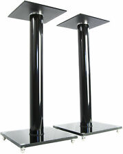 Premium Universal Floor Speaker Stands for Surround Sound & Book Shelf Speakers