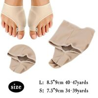 Big Toe Foot Pain Relief Hallux Valgus Splint Straightener Bunion Corrector 2Pcs