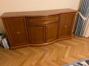 Sideboard, Kommode, Kirschbaum, gebraucht, 207 cm