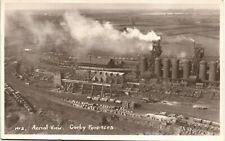 Corby Furnaces. Aerial View # 2. Railway.
