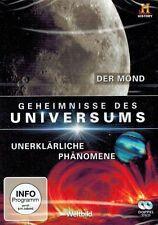 DOPPEL-DVD - Geheimnisse des Universums - Der Mond / Unerklärliche Phänomene