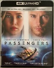 PASSENGERS 4K ULTRA HD BLU RAY 2 DISC SET FREE WORLD WIDE SHIPPING BUY IT NOW