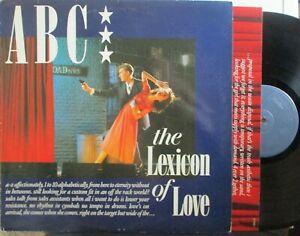ABC ~ The Lexicon Of Love ~ VINYL LP