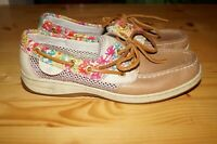 SPERRY TOP-SIDER BLUEFISH LIBERTY CASUAL 2 EYE BOAT SHOES WOMENS SIZE 7 M