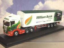 OXFORD SCANIA CAB JOCKEY TRUCK & TRAILER EDDIE STOBART WILLIAM BUICK 76SHL15WF
