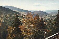 BF24555 vosges la vallee de saint maurice vue du ballon france  front/back image