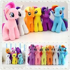 "Lot 6pcs MY LITTLE PONY 7"" Stuffed Plush Rainbow Toys Soft Teddy Doll Girl Gifts"