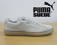 PUMA Suede Classic Men's & Boys Trainers Oatmeal Retro Leather Sneakers 36324001