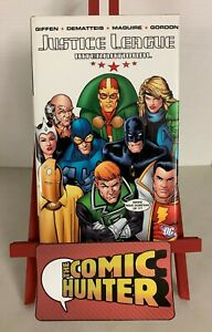 Justice League International Vol. 1 2008 Hardcover Keith Giffen