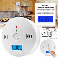 CO CO2 Melder Gasmelder Gaswarner LCD Alarm Detektor Kohlenmonoxidmelde xi4