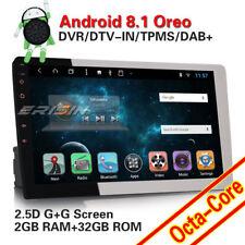 "10.1""8-Kern Universal Abnehmbarer 1Din Android 8.1 Autoradio GPS Diebstahlschutz"