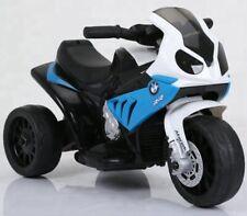 Kinder Elektro Motorrad BMW Dreirad Kinderfahrzeug Elektromotorrad 1x25W Blau