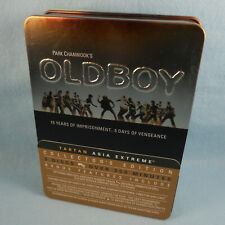 Oldboy Tartan Asia Extreme Collector's Edition 3-DVD Set Metal Tin Park Chanwook