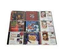 Lot Of 9 Christmas CD Lot-Blake Shelton, Mannheim, Strait, Como, Crosby, Sinatra