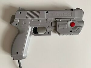 NAMCO G-CON 45 LIGHT GUN FOR TIME CRISIS PS1 - UNBOXED, BUT PERFECT CONDITION