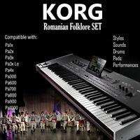 Romanian sample&styles SET for KORG PA (all models)