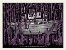 Dave Matthews Band Poster 2012 Darien Lake NY Signed & Numbered #/550 Rare!!