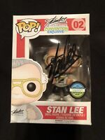 Stan Lee Wizard World #02 Signed Funko Autographed Excelsior Approved Hologram