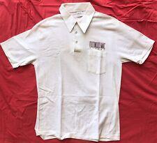 Fleetwood Mac Mirage 1982 Warner Brothers Records Promo Polo Shirt Vintage Large