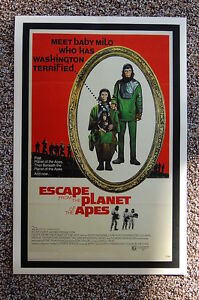 Escape from the Planet of the Apes Lobby Card Movie Poster #1