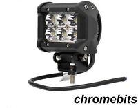 2 X 18W Lampe De Travail LED 1800lm Spot 12V 24V Bateau Atv Vélo SUV 4X4