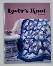 1985 QUILT IN A DAY Lover's Knot ELEANOR BURNS pieced quilt pattern book UNUSED