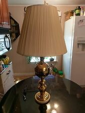 Stunning Solid Brass Table Lamp Brand New