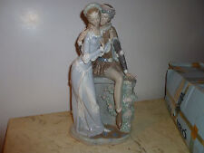 Lladro porcelain figurine Lovers From Verona 1250 Romeo and Juliet Excellent
