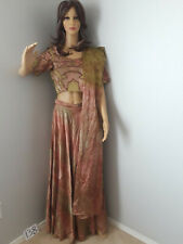 Indian Long Skirt w/ Top Embroidered design #138