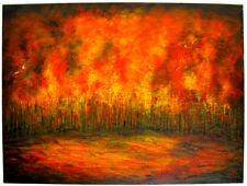 KYM HART -  LARGE OIL PAINTING - GALLERY PRICE $3800.00 PRO HART BLACKMAN