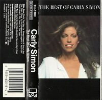 The Best of Carly Simon by Carly Simon (Cassette, Oct-1990, Elektra) Excellent