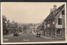 Oxfordshire Postcard - Street Scene in Burford   MB101