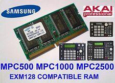 Akai MPC2500 MPC1000 MPC500 Memory Ram - Compatible EXM128 ,  EXM-128 , 128MB