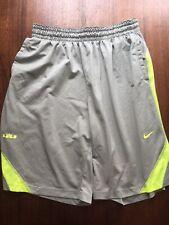 Men's XXL Nike Gray Basketball Shorts