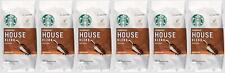 6 PACK Starbucks House Blend Medium Ground Coffee 12 Oz Beast Before Jan 2020