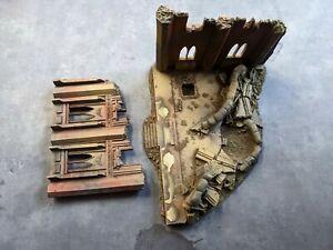Warhammer 40k Forgeworld OOP Ruined Imperial Building Resin Very Rare