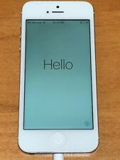 Apple iPhone 5 - 32GB - Unlocked - White & Silver (Sprint) A1429 (CDMA + GSM)
