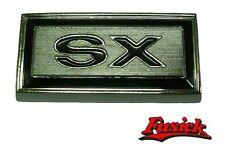 1970 1971 Olds Cutlass SX models Front Fender 'SX' Emblem Oldsmobile 70 71