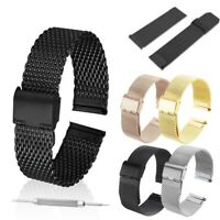 Stainless Steel Bracelet Strap For Samsung Gear S3 Frontier / Classic Watch Band