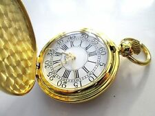 quartz pocket watch, attractive, running