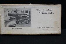 "VINTAGE 1936 ""24 pound Naval Cannon"" MODEL KIT BY MARINE MODEL CO. Unused #1059"