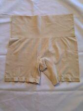 NWOT HSN Yummie Seamless  H.Thomas Brief Boy Shorts - Beige  Panty Size - L/XL