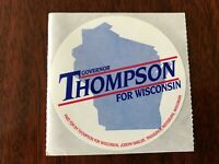 1982 Terry J Kohler For Governor Of Wisconsin Sticker Olson Lt Governor