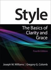 Style: The Basics of Clarity and Grace (4th Edition)-ExLibrary