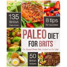 Paleo Diet for brits by Rockridge Press  NEW Paperback