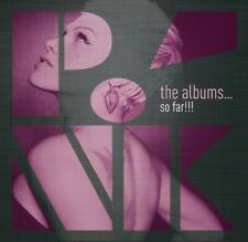 Pink The Albums ...So Far CD Box Set 6 cd 2015 sealed