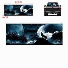 "18""x58"" Car Truck Rear Window Tailgate wolf howling Moon Galaxy Sticker Decal"